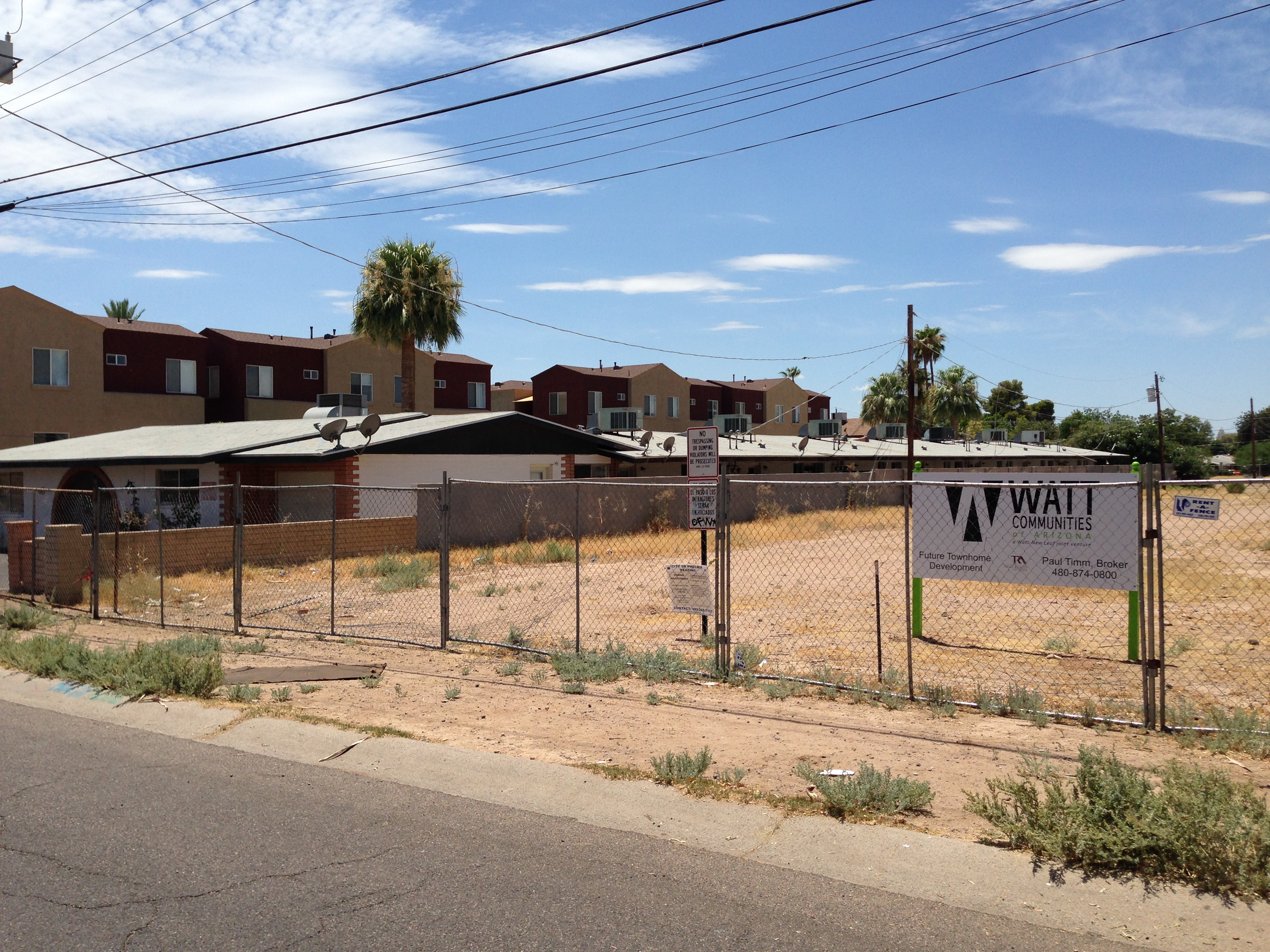 Vestis Group Sells Phoenix Multifamily Land To Urban Infill Developer