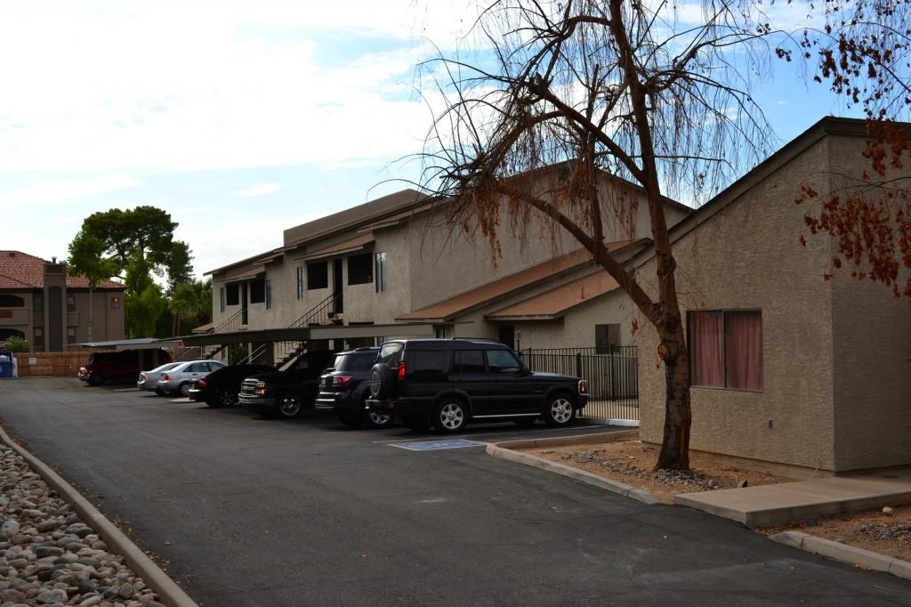 22nd Street Apartments in Phoenix, Arizona.