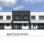 30th Street - Back Elevation