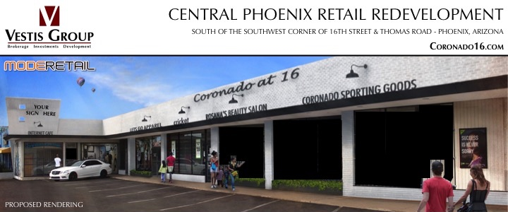 Coronado16 | Retail Space For Lease In Phoenix AZ | Vestis Group