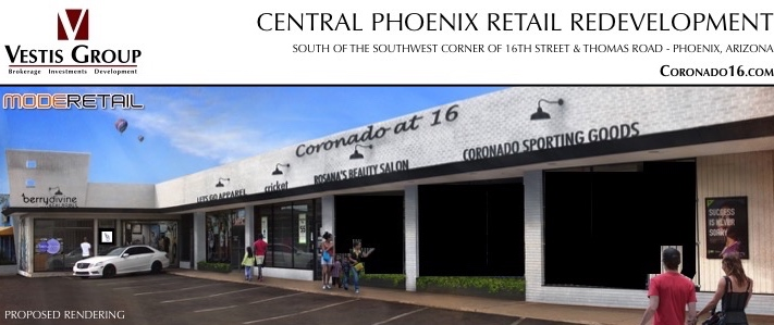 Coronado16 | Midtown Phoenix Retail Space For Lease