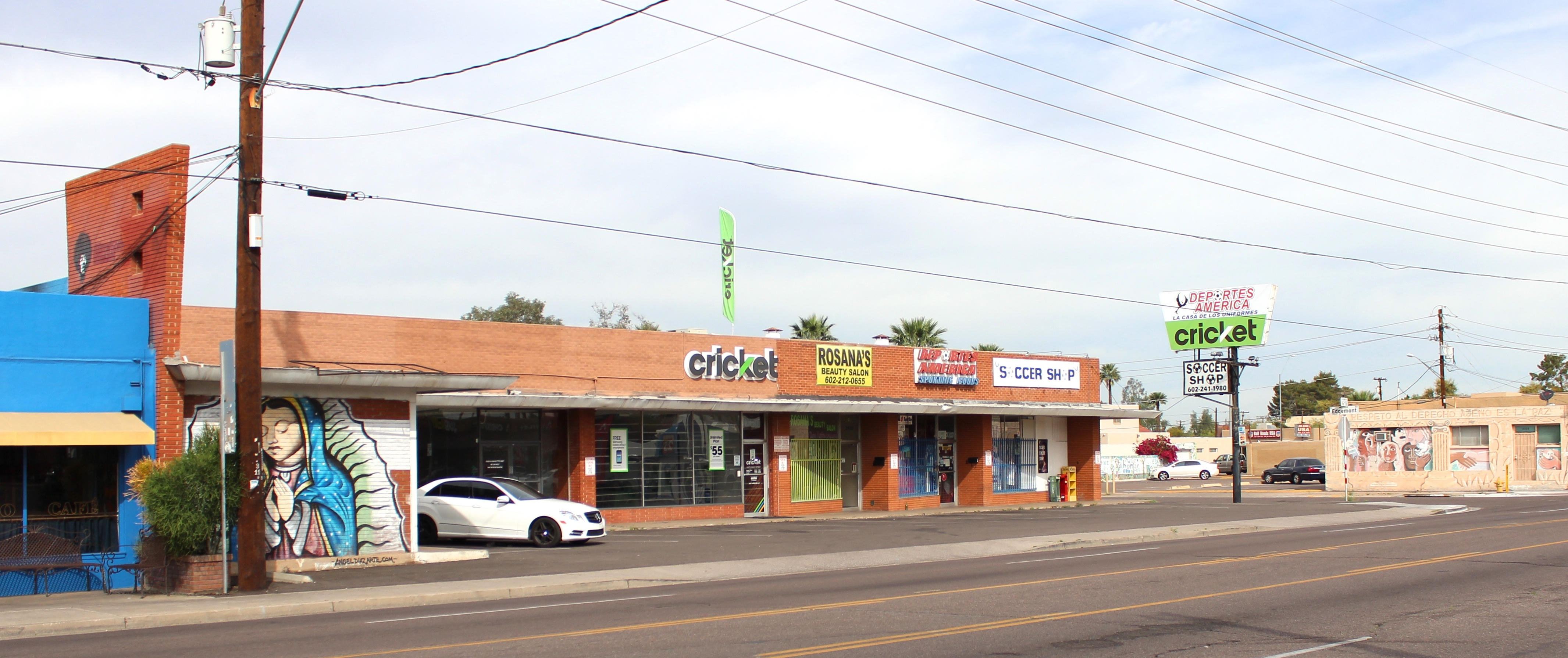 Hinton Place Plaza | Midtown Phoenix Retail Space For Lease | Vestis Group