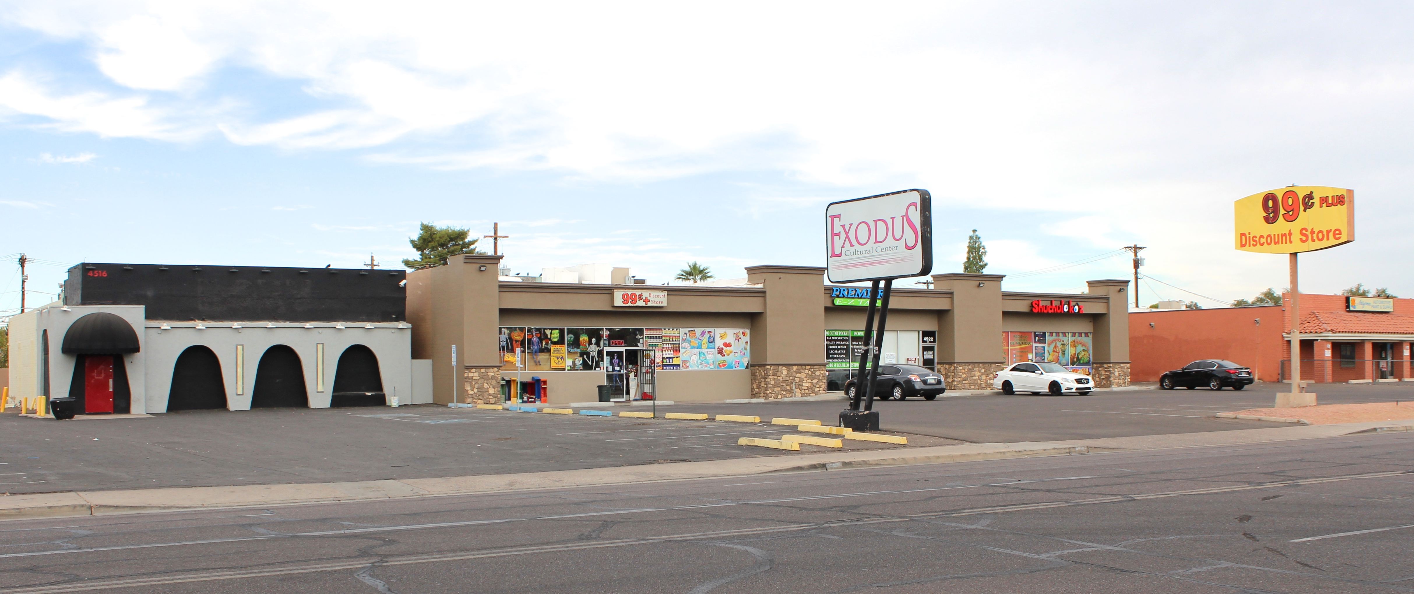 19 Campbell Retail Space For Lease In Phoenix AZ