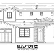 2727 Turney | Elevation