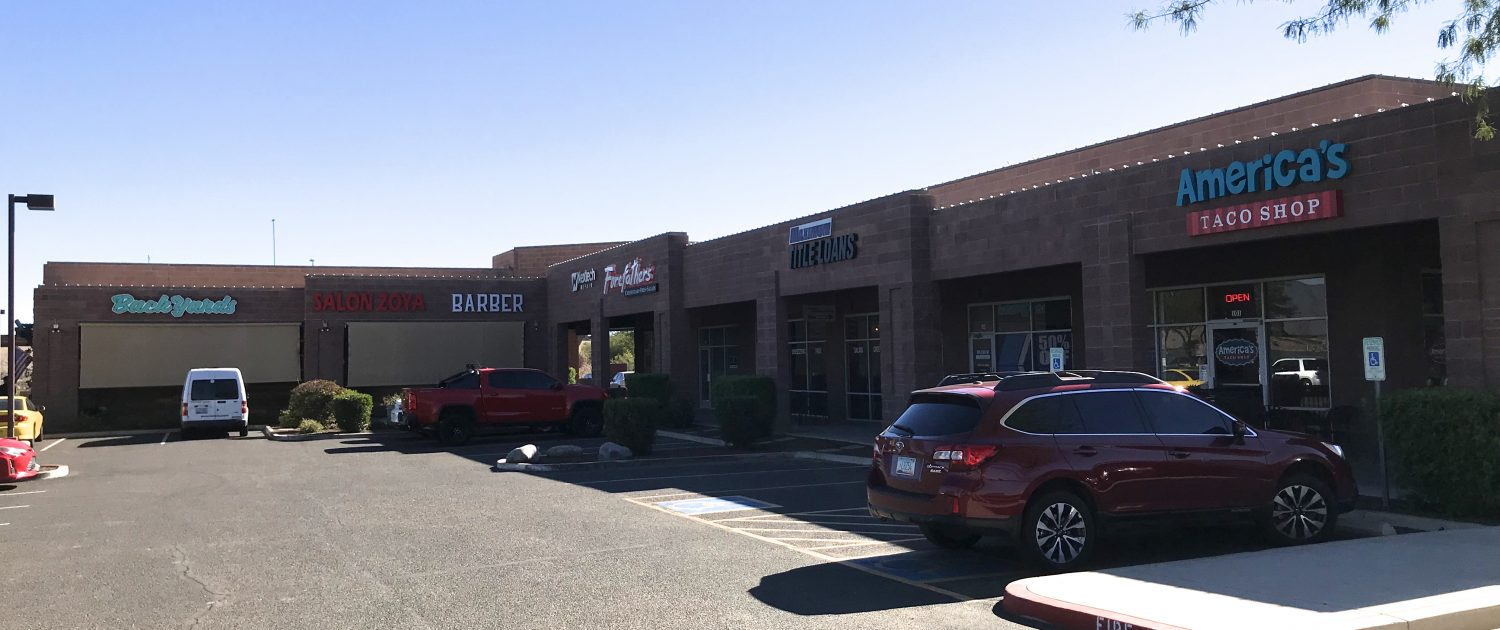 The Shops At Calender Stick | 9261 E Via De Ventura, Scottsdale, AZ 85258 | Retail Space For Lease