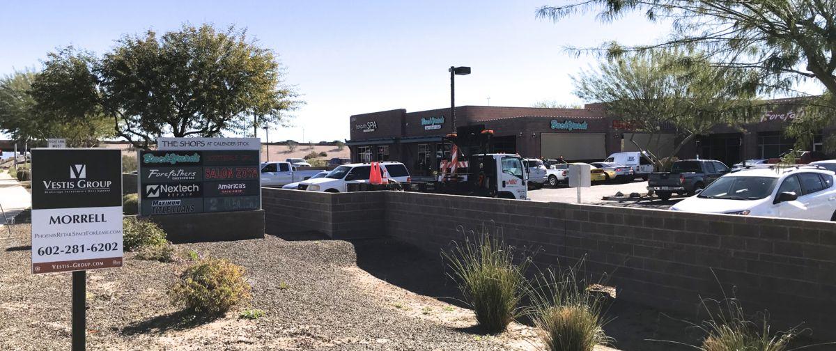 The Shops At Calender Stick | 9261 E Via De Ventura, Scottsdale, AZ 85258 | Retail Space For Lease