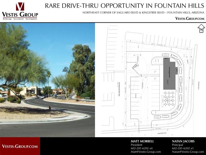 17134 E Kingstree Blvd, Fountain Hills, AZ 85268 | Drive-Thru Retail Space