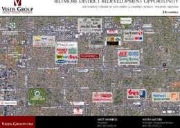 Vestis Group Negotiates Commercial Land Sale in Phoenix Biltmore District